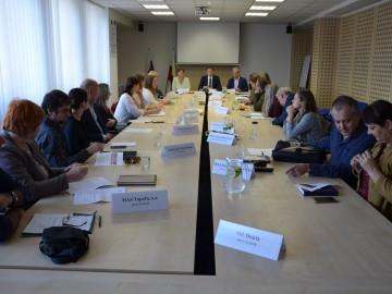Informačno-koordinačné pracovné stretnutie zástupcov Prešovského samosprávneho kraja a miestnych akčných skupín Prešovského kraja