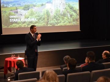 Predseda PSK, Milan Majerský, dňa 13.2.2019 navštívil okres Stará Ľubovňa